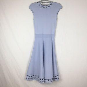 Ted Baker Kathryn Cutwork Knit Skater Dress